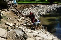 Vodní díla v parku KOMOROV I. ETAPA – Oprava rybníků